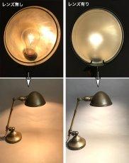 """画像5: 1910-20's """"O.C.White"""" Brass Telescopic Desk Lamp  ★初期刻印 & ガラスレンズ付き★ (5)"""
