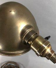 """画像18: 1910-20's """"O.C.White"""" Brass Telescopic Desk Lamp  ★初期刻印 & ガラスレンズ付き★ (18)"""