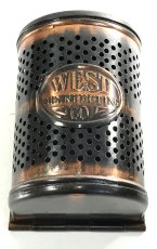 "画像3: 1910-20's ""West Disinfecting Co. N.Y."" Steel Mesh Box 【Dead-Stock】 (3)"