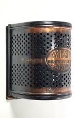 "画像2: 1910-20's ""West Disinfecting Co. N.Y."" Steel Mesh Box 【Dead-Stock】 (2)"