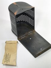 "画像5: 1910-20's ""West Disinfecting Co. N.Y."" Steel Mesh Box 【Dead-Stock】 (5)"
