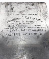 """画像2: 1950's """"Machine Age"""" Aluminum BINDER (2)"""