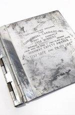 """画像4: 1950's """"Machine Age"""" Aluminum BINDER (4)"""