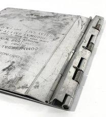 """画像5: 1950's """"Machine Age"""" Aluminum BINDER (5)"""