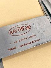 """画像3: 1960's """"RAYTHEON"""" Portable Aluminum Organizer (3)"""