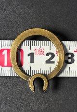 """画像5: 【Pat.1875】 Solid Brass""""Rotating"""" Key Ring (5)"""
