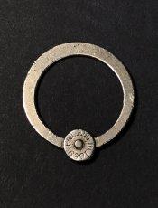 """画像1: 【Pat.1869】  Nickeled-Brass""""Rotating"""" Key Ring (1)"""