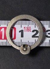 """画像4: 【Pat.1869】  Nickeled-Brass""""Rotating"""" Key Ring (4)"""