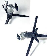 画像4: 1940-60's【E.Leitz】Tabletop Tripod w/ Small Ball Head (4)