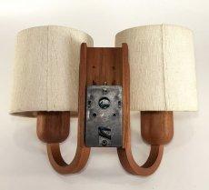 """画像6: 1960-70's  """"Domus"""" German Wood Sconce (6)"""