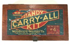 "画像3: 1930's ""CARRY-ALL"" Advertising Wood Box (3)"