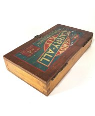 "画像9: 1930's ""CARRY-ALL"" Advertising Wood Box (9)"