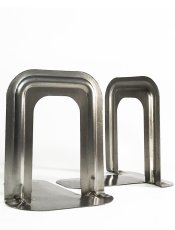 "画像1: ""GRAS/RAVEL"" Steel Bookends (1)"