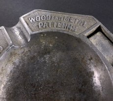 "画像4: 1920-30's ""ADVERTISING"" Cast Aluminum Ashtray (4)"