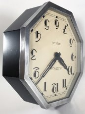 "画像13: 1930's French ""Art Déco"" Octagon Wall Clock (13)"