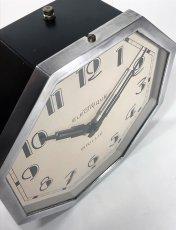 """画像15: 1930's French """"Art Déco"""" Octagon Wall Clock (15)"""