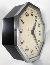 "画像12: 1930's French ""Art Déco"" Octagon Wall Clock (12)"
