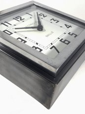"画像12: 1940's French ""Art Déco"" Wall Clock (12)"