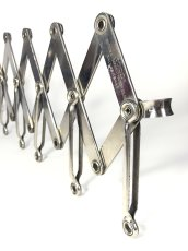"画像2: 1920's ""EXTENSION"" Steel Garment Hanger Rack (2)"