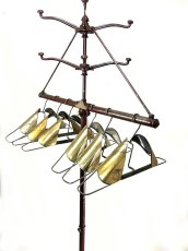 画像18: 1930's ★UTILATREE★ Folding Coat&Hat Rack (18)