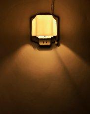 """画像10: 1930's Art Deco """"Porcelain&Milk Glass"""" Bathroom Lamp (10)"""