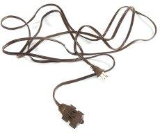"""画像7: 1950-60's """"Extension Cord"""" Bakelite 3-Outlet (7)"""