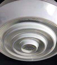 "画像8:  1950's ""Red-Spot"" Glass Ceiling Light  【超特大!!】 (8)"