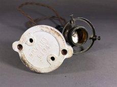 """画像9:  1900-10's """" GECO."""" Socket Pendant Lamp  (9)"""