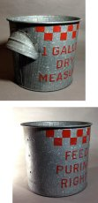 "画像3: 1930's Purina Mills ""CHECKER"" Country Bucket ★Excellent Condition★ (3)"