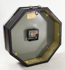 """画像15: ★BLACK & SILVER★  1930's French """"BRILLIE"""" Octagon Wall Clock 【超・Mint Condition】 (15)"""