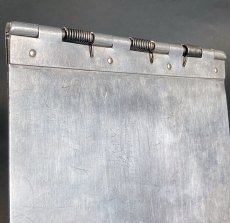 "画像11: 1940's 【Wilson-Jones Co.】 ""Machine Age"" Aluminum Riveted BINDER (11)"