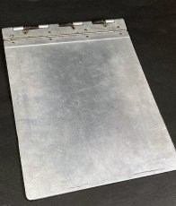 "画像2: 1940's 【Wilson-Jones Co.】 ""Machine Age"" Aluminum Riveted BINDER (2)"