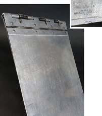"画像1: 1940's 【Wilson-Jones Co.】 ""Machine Age"" Aluminum Riveted BINDER (1)"