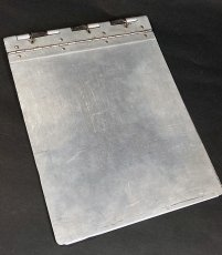 "画像7: 1940's 【Wilson-Jones Co.】 ""Machine Age"" Aluminum Riveted BINDER (7)"
