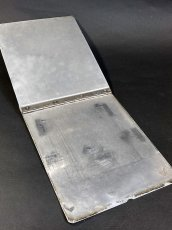 "画像4: 1940's 【Wilson-Jones Co.】 ""Machine Age"" Aluminum Riveted BINDER (4)"