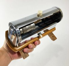 "画像14: 1930-40's German Art Deco ""Wood × Chrome"" Reading Light (14)"