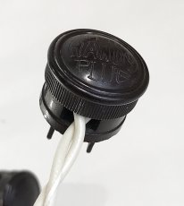 画像7: Early-1930's 【THE HANDY PLUG】 Brown Bakelite Electric Plug -*中古コード付き*- (7)