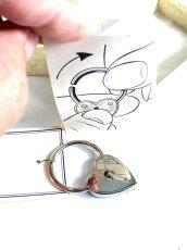 画像4:  1940's  ♡Heart Shaped♡ Advertising Key Ring  【箱付きDEAD-STOCK】 (4)