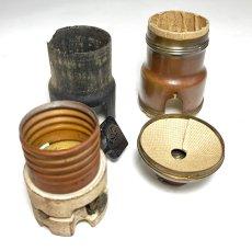 """画像3: """"FAT-BOY"""" Lamp Socket Paper Insulator for Turn-Knob Socket 【U.S.A.】 (3)"""