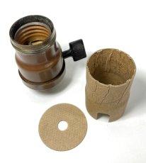 """画像2: """"FAT-BOY"""" Lamp Socket Paper Insulator for Turn-Knob Socket 【U.S.A.】 (2)"""