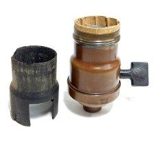 """画像4: """"FAT-BOY"""" Lamp Socket Paper Insulator for Turn-Knob Socket 【U.S.A.】 (4)"""