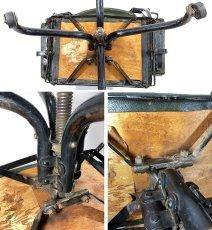 """画像20: ★ DoMore Chair Co.★  1910-20's """"Machine age"""" Swivel Desk Chair (20)"""