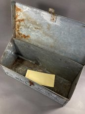 """画像4: 1900-10's """"Shabby"""" Stenciled U.S. MAIL BOX (4)"""