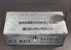 """画像2: 1900-10's """"Shabby"""" Stenciled U.S. MAIL BOX (2)"""