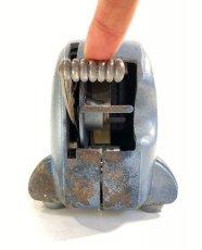 """画像9: 1940's Machine Age """"BIG-INCH"""" Iron Tape Dispenser (9)"""