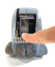 """画像10: 1940's Machine Age """"BIG-INCH"""" Iron Tape Dispenser (10)"""