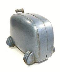 """画像7: 1940's Machine Age """"BIG-INCH"""" Iron Tape Dispenser (7)"""