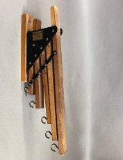 "画像4: 1920-30's ""Holds more Hanger"" Wood&STEEL Folding Hanger (4)"