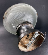 "画像10: 1940-50's ""HOLOPHANE"" Ceiling Light (10)"