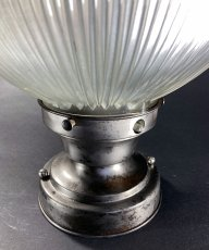 "画像8: 1940-50's ""HOLOPHANE"" Ceiling Light (8)"